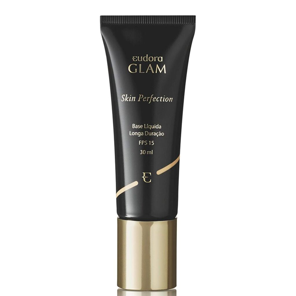 Base Líquida Glam Skin Perfection Bege Médio 1 30ml