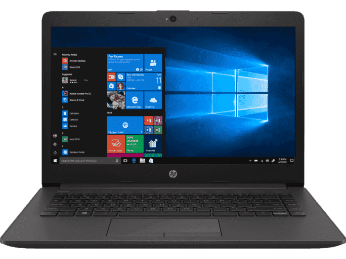 R$100 OFF no Notebook HP 246 G7 Processador i3-8130U 14 polegadas 4GB HD 128 SSD Windows 10 HOME